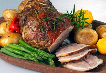 Four Hills Farm Lamb Roast