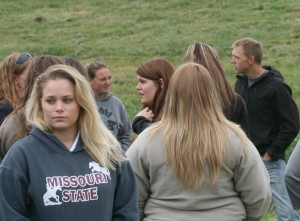 Missouri State University Students visit Four Hills Farm